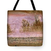 Fog Abstract 3 Tote Bag by Marty Koch