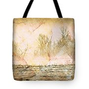 Fog Abstract 4 Tote Bag by Marty Koch