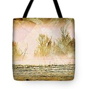 Fog Abstract 5 Tote Bag by Marty Koch