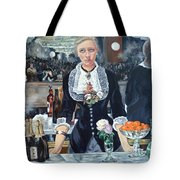 Folies Bergere Revisited Tote Bag by Tom Roderick