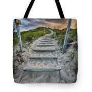 Follow the Path Tote Bag by Sebastian Musial