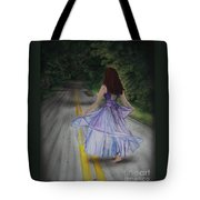 Follow Your Path Tote Bag by Jackie Mestrom