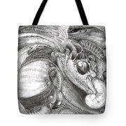 Fomorii Aliens Tote Bag by Otto Rapp