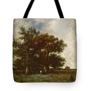Fontainebleau Oak Tote Bag by Jules Dupre