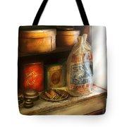 Food - Kitchen Ingredients Tote Bag by Mike Savad