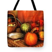 Food - Nature's Bounty Tote Bag by Mike Savad