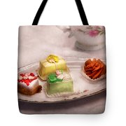 Food - Sweet - Cake - Grandma's Treats  Tote Bag by Mike Savad