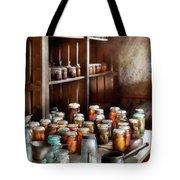 Food - The Winter Pantry  Tote Bag by Mike Savad