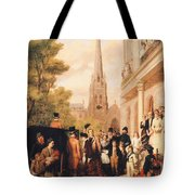 For Better For Worse Tote Bag by William Powell Frith
