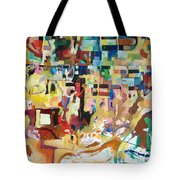 for we have already merited to receive our Holy Torah 4 Tote Bag by David Baruch Wolk