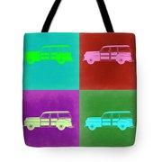 Ford Woody Pop Art  Tote Bag by Naxart Studio