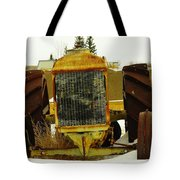 Fordson Tractor Plentywood Montana Tote Bag by Jeff Swan