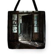 Foreboding Doorway Tote Bag by Gary Heller