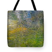 Forest Reflection Tote Bag by Roxy Hurtubise