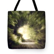 Forest Tunnel Tote Bag by Wim Lanclus