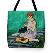Forget Me Not... Tote Bag by Xueling Zou
