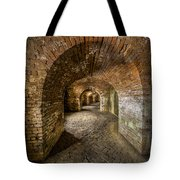 Fort Macomb Arches Vertical Tote Bag by David Morefield