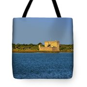 Fort Matanzas - Saint Augustine Florida Tote Bag by Christine Till