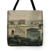 Fort Moultrie Circa 1861 Tote Bag by Aged Pixel