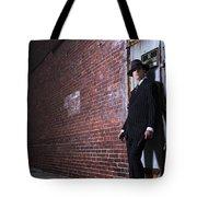 Forties Style Film Noir Gangster Tote Bag by Diane Diederich