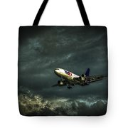 Foul Weather Fedex Tote Bag by Marvin Spates