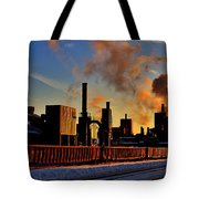 Foundry Tote Bag by Benjamin Yeager