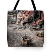 Foundry Worker Tote Bag by Adrian Evans
