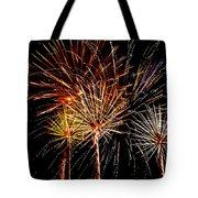 Fourth Of July Fireworks  Tote Bag by Saija  Lehtonen