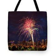 Fourth Of July Tote Bag by John K Sampson