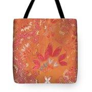 Fractal - Abstract - Japanese motif Tote Bag by Mike Savad