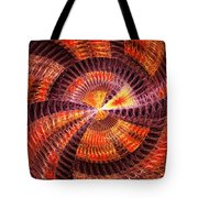 Fractal - Abstract - The Constant Tote Bag by Mike Savad