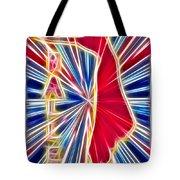Fractal Ballet Tote Bag by David G Paul