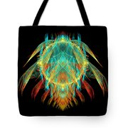 Fractal - Insect - I found it in my cereal Tote Bag by Mike Savad