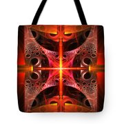 Fractal - Science - Cold Fusion Tote Bag by Mike Savad