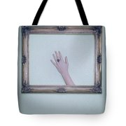 Framed Hand Tote Bag by Joana Kruse