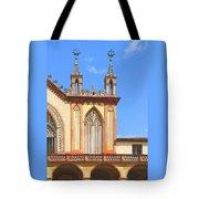 Franciscan Monastery In Nice France Tote Bag by Ben and Raisa Gertsberg