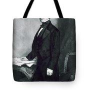 Franklin Pierce Tote Bag by George Healy