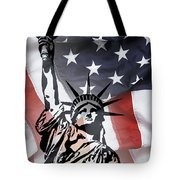 Freedom For Citizens Tote Bag by Daniel Hagerman