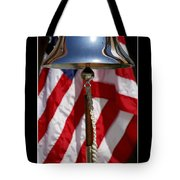 Freedom Inspirational Quote Tote Bag by Stocktrek Images