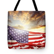 Freedom Tote Bag by Les Cunliffe
