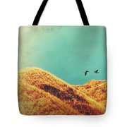 Freedom Vintage Tote Bag by Angela Doelling AD DESIGN Photo and PhotoArt