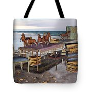 Freedom within a Book Tote Bag by Betsy C  Knapp