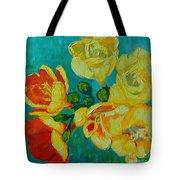 Freesia Tote Bag by Ana Maria Edulescu
