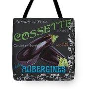 French Veggie Labels 4 Tote Bag by Debbie DeWitt