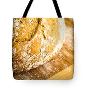 Fresh Baked Loaf Of Artisan Bread Tote Bag by Edward Fielding