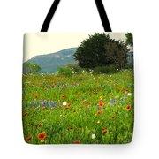 FRESH FLOWERS Tote Bag by Joe Jake Pratt