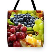 Fresh Fruits And Cheese Tote Bag by Elena Elisseeva