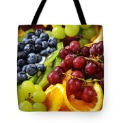 Fresh Fruits Tote Bag by Elena Elisseeva