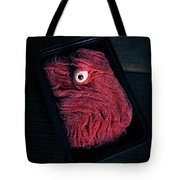 Fresh Ground Zombie Meat - Its What's For Dinner Tote Bag by Edward Fielding