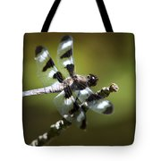 Fresh Morning Dragonfly Tote Bag by Christina Rollo
